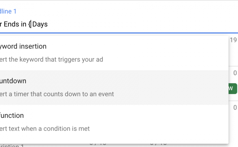 Adding a Countdown Timer to Google Search Ads (Formerly Adwords)